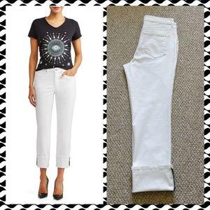 Sofia Jeans Veronica straight cropped jeans sz 8